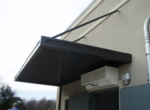 Commercial Awning East Coast Aluminum Awnings